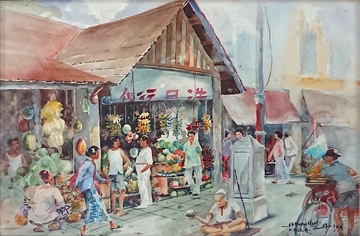 Chowrasta Market by Abdullah Ariff