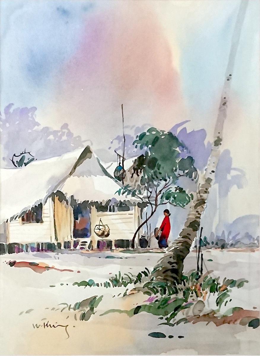 Kampung House II by Fong Kim Sing
