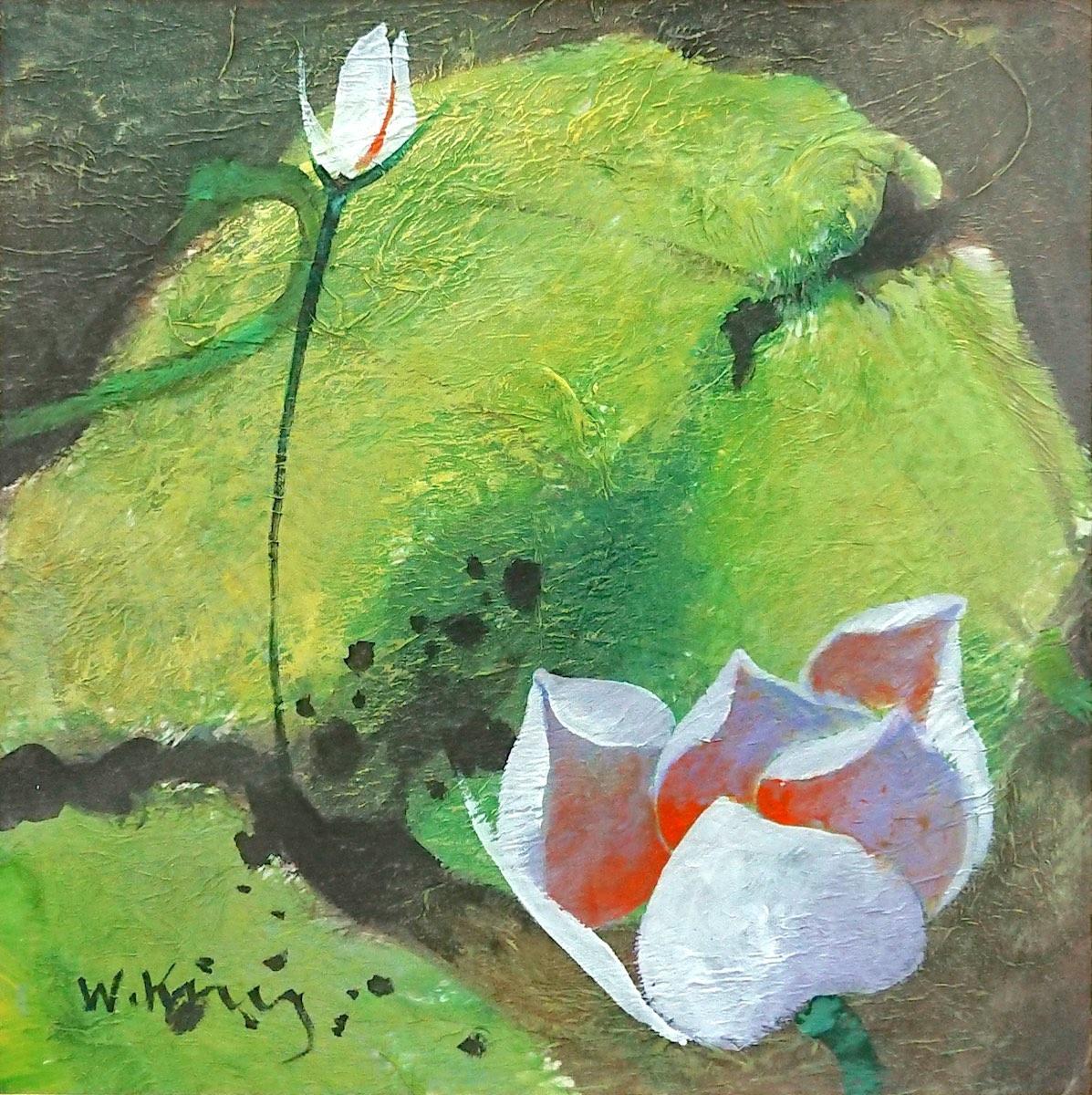 White Lotus by Fong Kim Sing