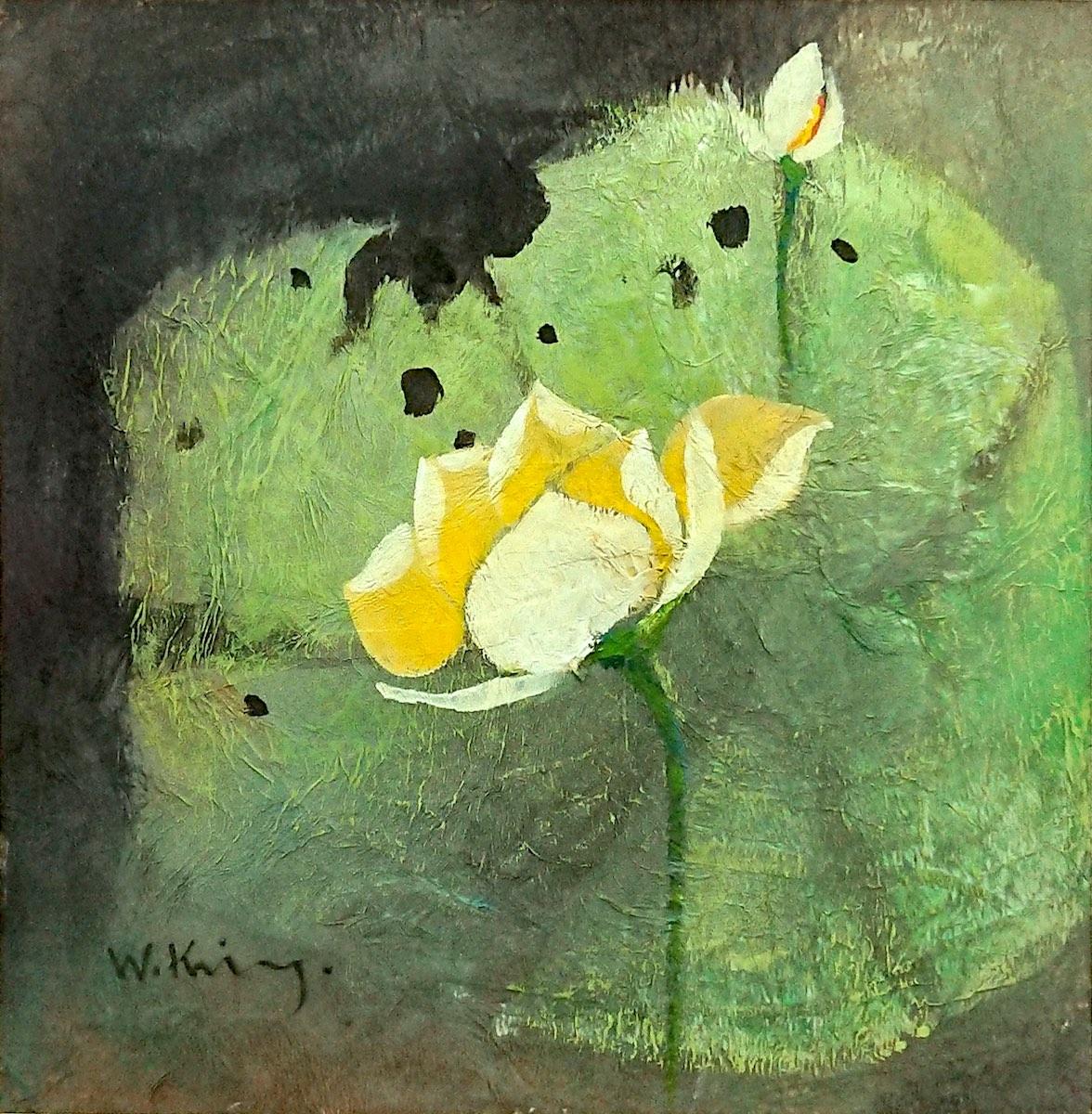 Yellow Lotus by Fong Kim Sing