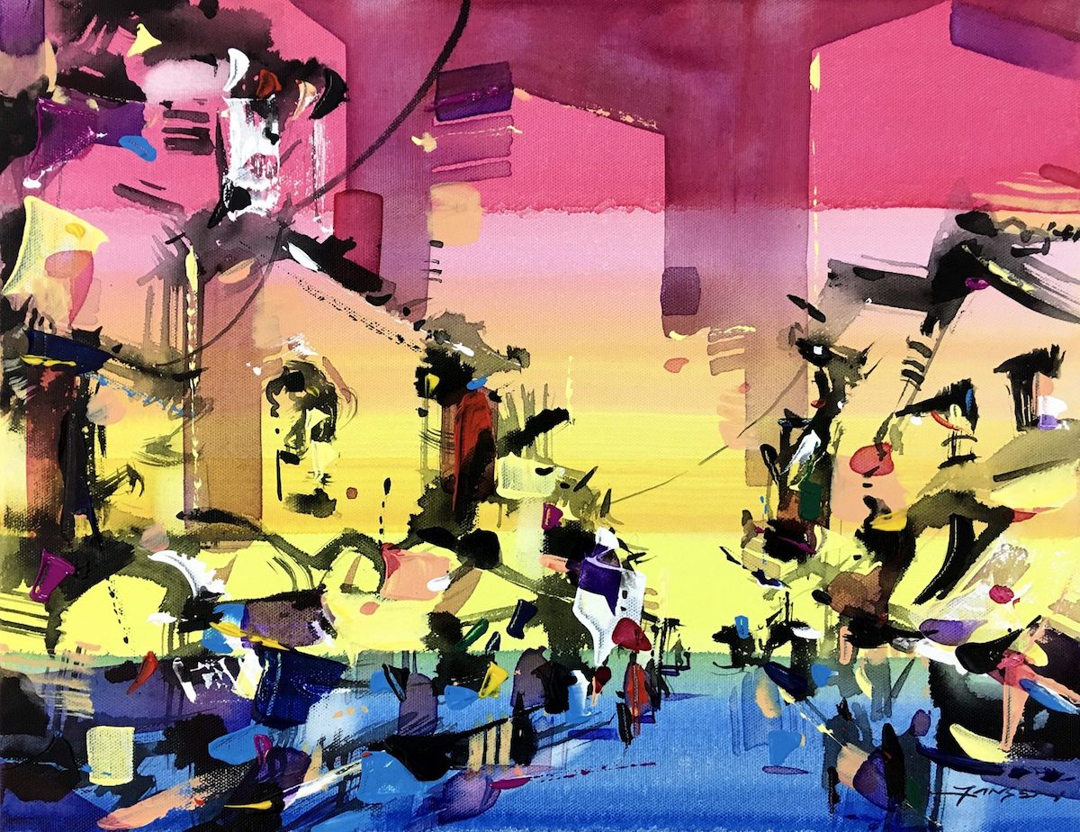 Colourful City 4 by Jansen Chow