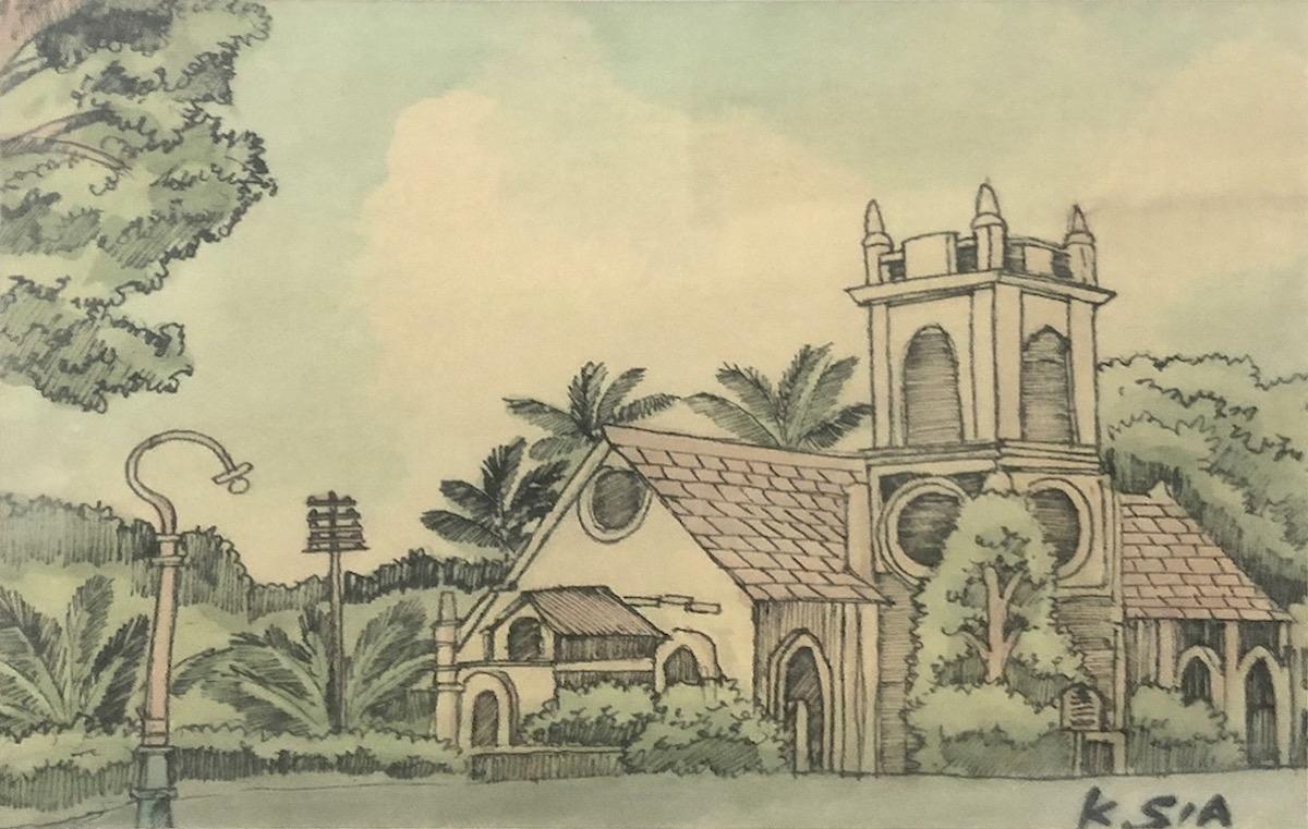 Wesley Methodist Church by Khaw Sia