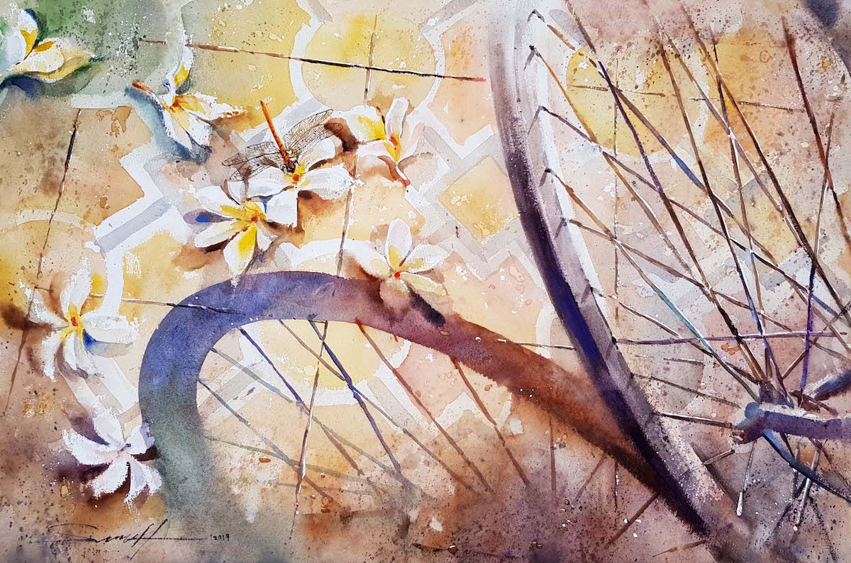 Floral Attraction III by Koay Sheng Tat