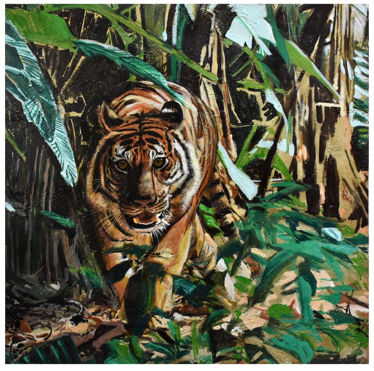 The Drunken Tiger by Nasir Nadzir