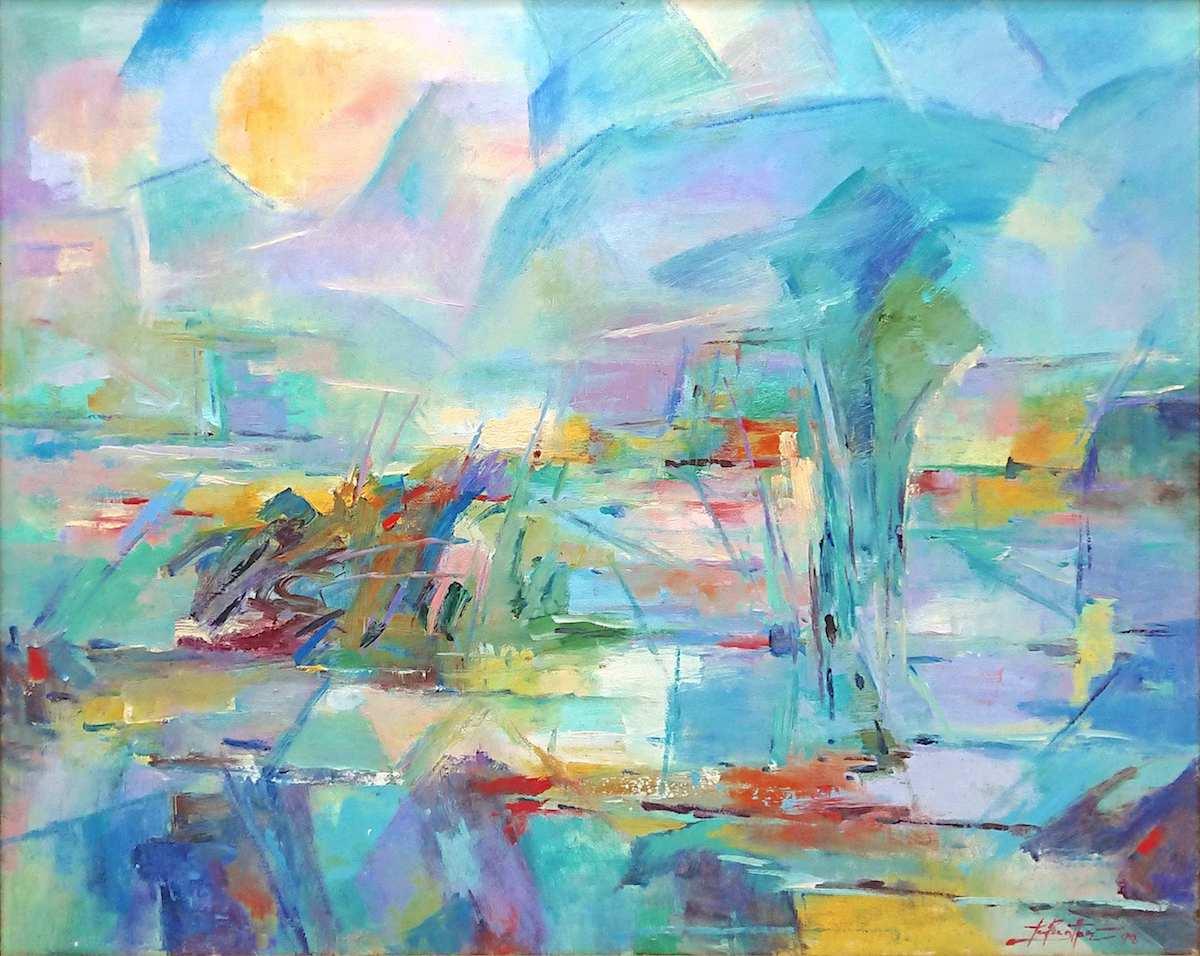 Padi Fields by Tan Peng Hooi
