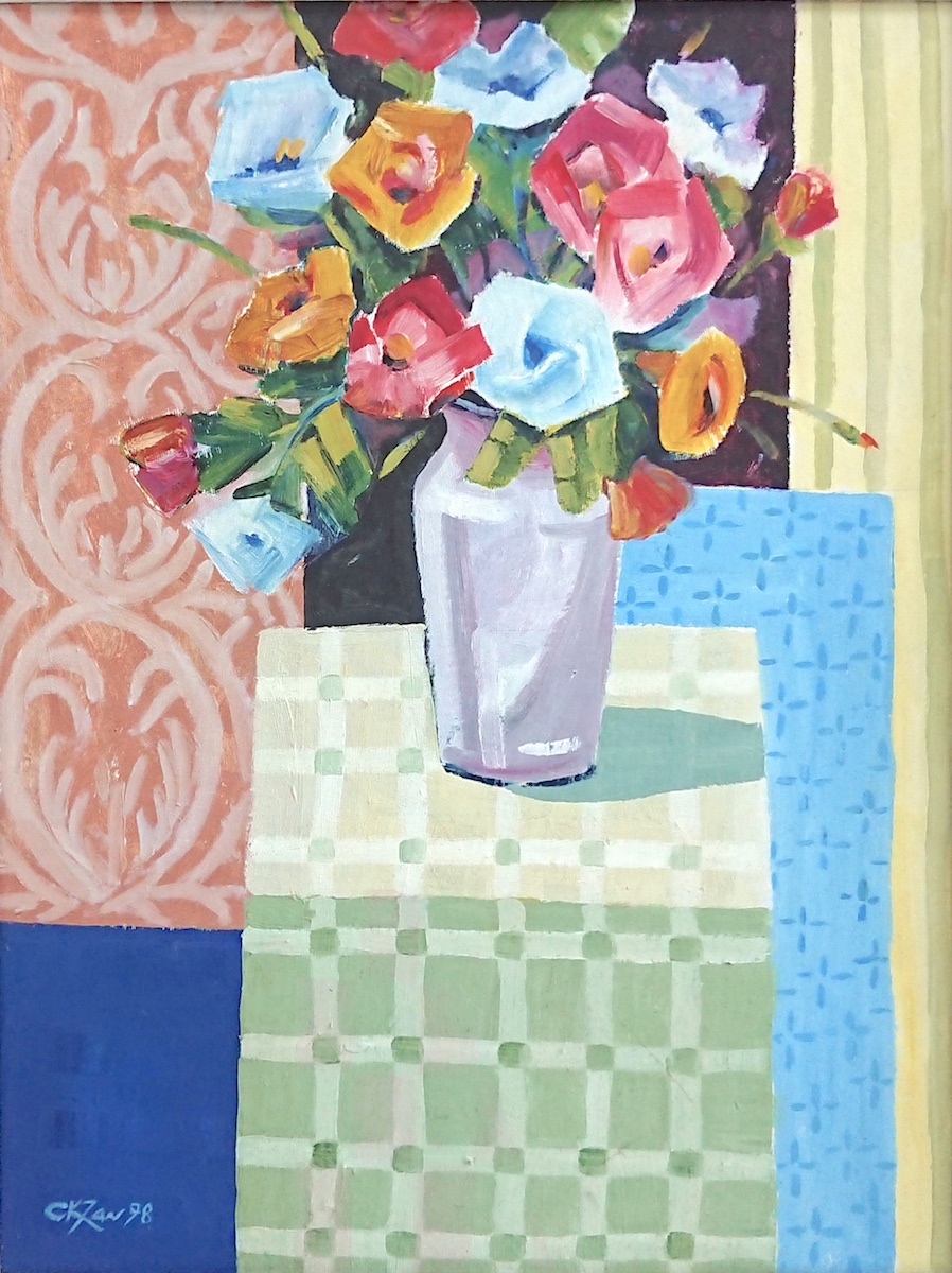 A Vase of Flowers, 1998 by Tan Chiang Kiong