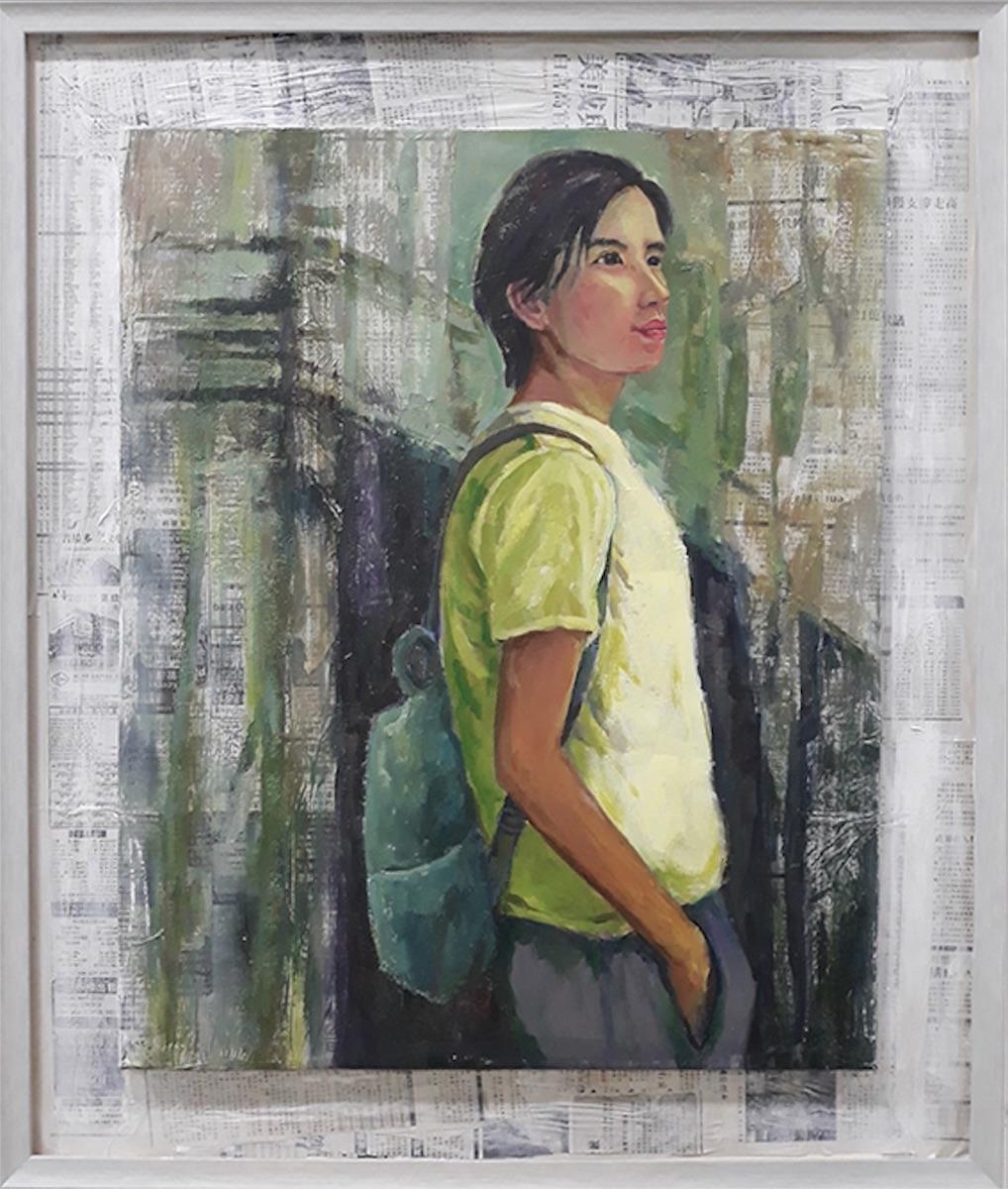Pensive, 2019 by Teoh Mooi Huang