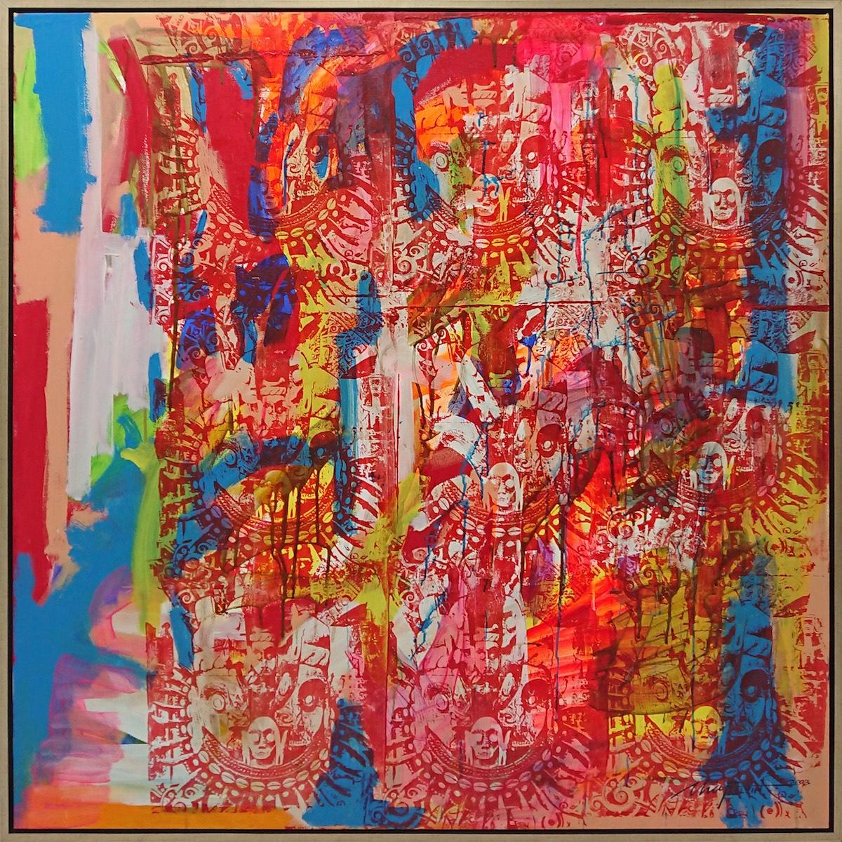 Red Zone, 2003 by Kelvin Chap