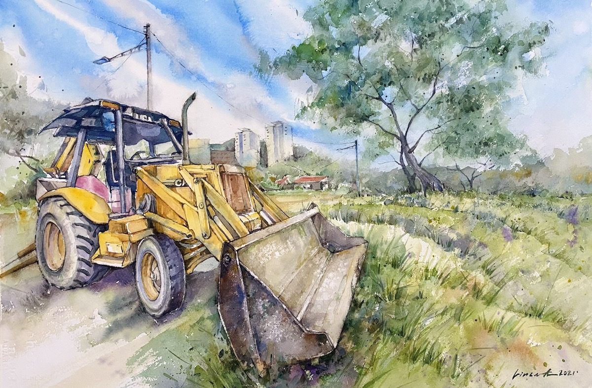 The Excavator by Vincent Phang Yoong Sheng