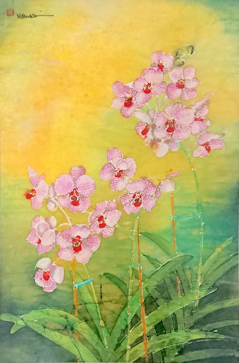 Vanda Orchids by Ho Hee Khim